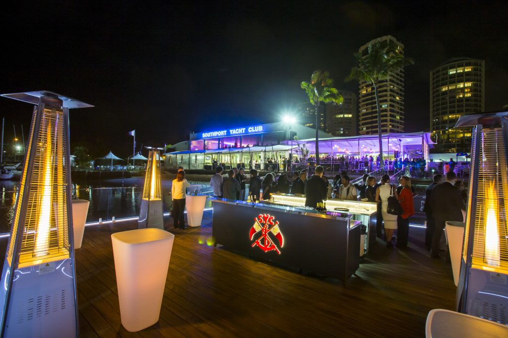 XCAT welcome party on Waterscape at SYC