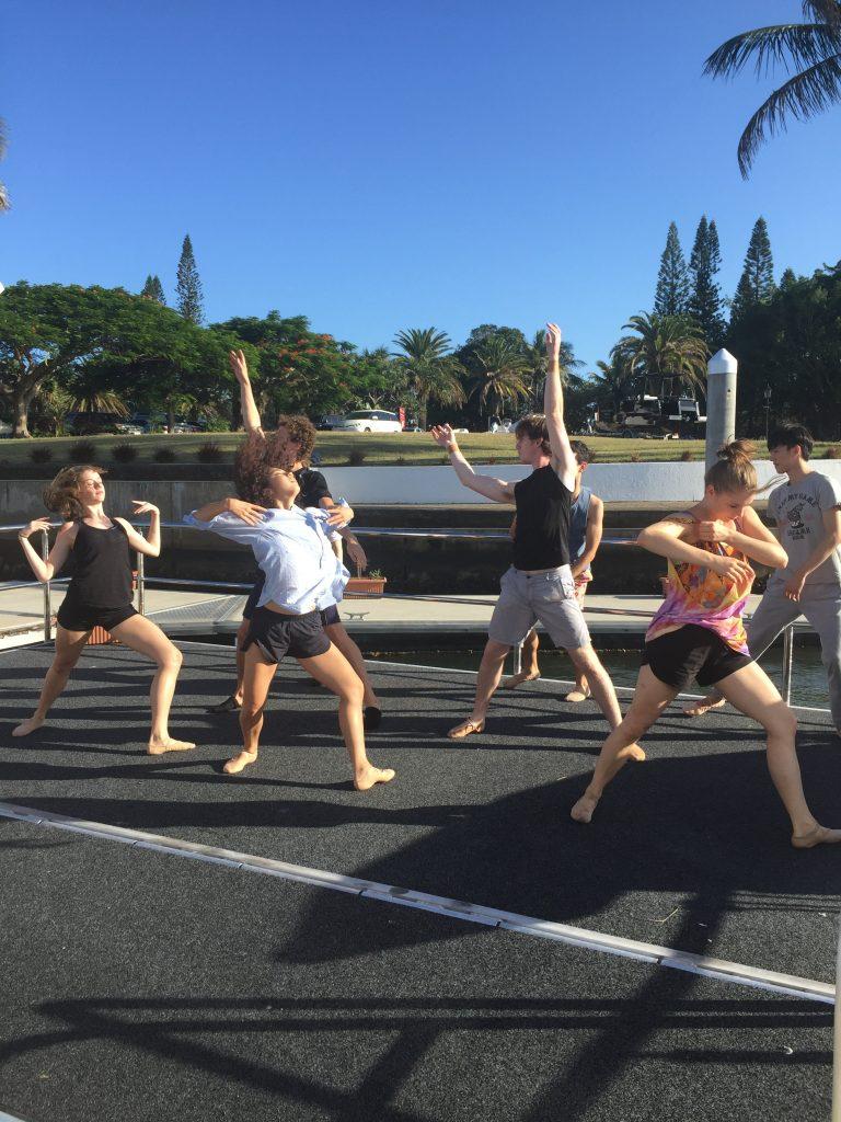 Queensland Ballet's Superior warm up for BLEACH
