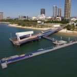 Ironman start line Gold Coast