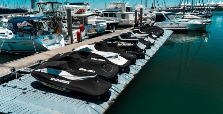Superior Jetties Jet Ski Dock Superior Jetties Jet Ski Dock